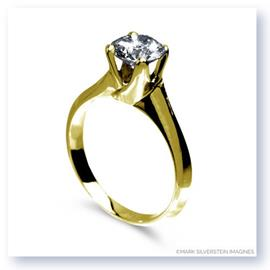 Mark Silverstein Imagines Polished 18K Yellow Gold Tulip Twist Engagement Ring
