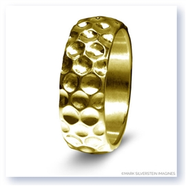 Mark Silverstein Imagines 14K Yellow Gold Golf Themed Men's Wedding Band