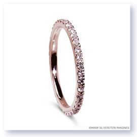 Mark Silverstein Imagines Polished 18K Rose Gold and Pink Diamond Eternity Band