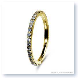 Mark Silverstein Imagines Polished 18K Yellow Gold and Diamond Eternity Band
