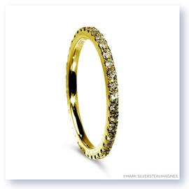 Mark Silverstein Imagines Polished 18K Yellow Gold and Yellow Diamond Eternity Band