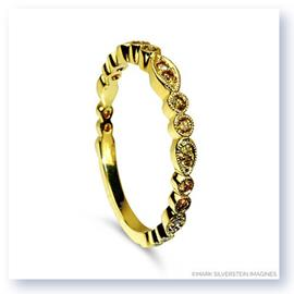 Mark Silverstein Imagines 18K Yellow Gold and Yellow Diamond Half Eternity Band
