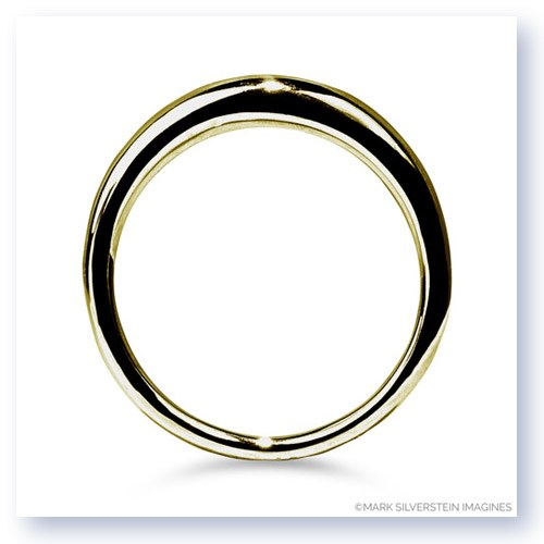 Mark Silverstein Imagines 18K Yellow Gold Domed Wedding Band