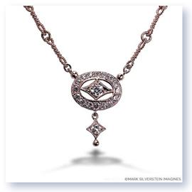 Mark Silverstein Imagines 18K Rose Gold Drop Diamond Necklace