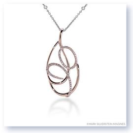 Mark Silverstein Imagines 18k Rose Gold Diamond Pendant